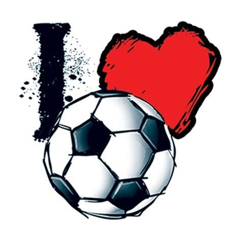 heart soccer temporary tattoo goimprints