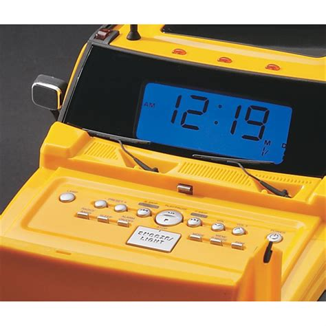 Hummer® Clock Radio / CD Player - 49613, at Sportsman's Guide