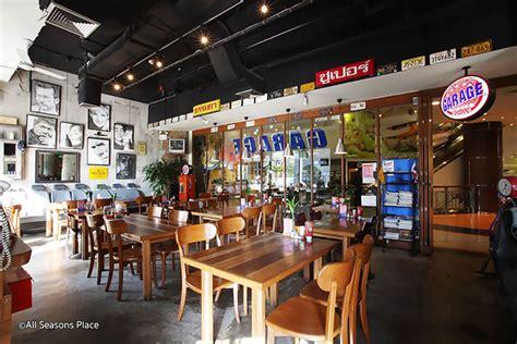 the garage eatery garage burger bangkok restaurant bangkok magazine