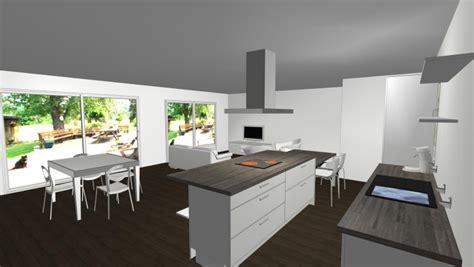 peinture de cuisine moderne notre maison neuve idée déco salon salle à manger