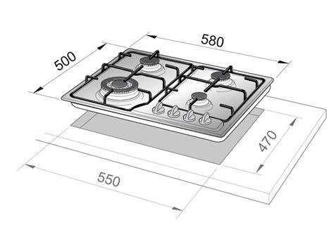 piani cottura terra di francia de longhi ytf46asv piano cottura terra di francia 60 cm