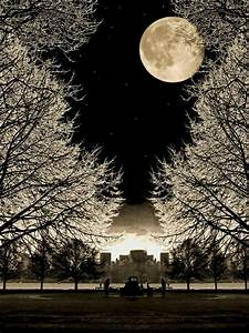 Beautiful moon | Black and white photos | Pinterest
