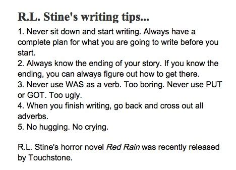 Helpful Tips For Every Writer  J S Goldstine