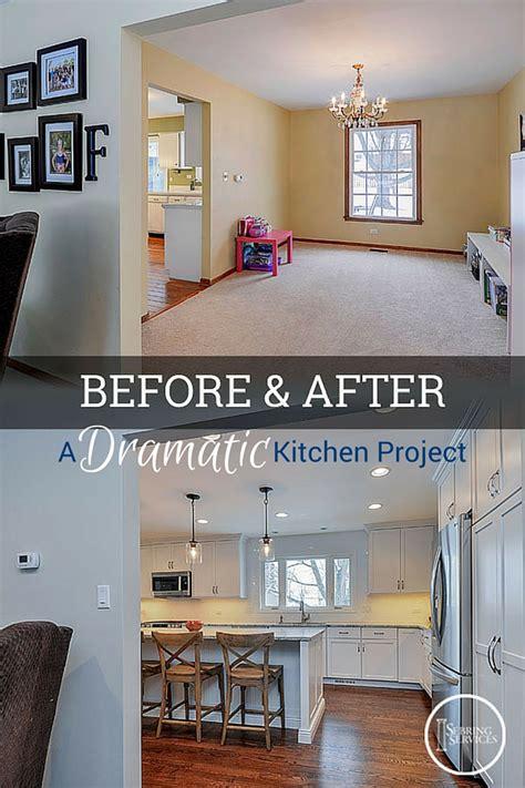 dramatic naperville kitchen renovation