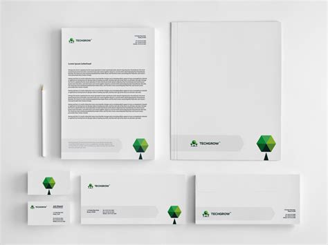 corporate identity business package draward professional logo design