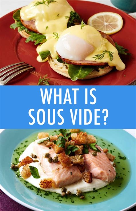 cuisine sous vide what is sous vide how to get started with sous vide