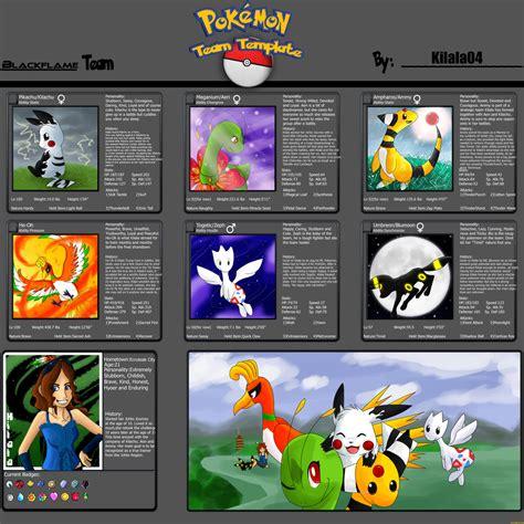 Pokemon Team Memes - blackflame pokemon team meme by kilala04 on deviantart