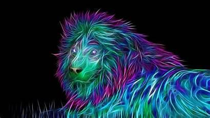 Lion 3d Wallpapers Abstract Baltana