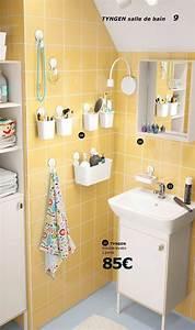 Ikea Salle Bain : salle de bains ikea le nouveau catalogue 2017 est en ligne c t maison ~ Teatrodelosmanantiales.com Idées de Décoration