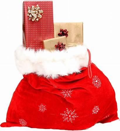 Christmas Gift Transparent Sack Gifts Birthday Cake