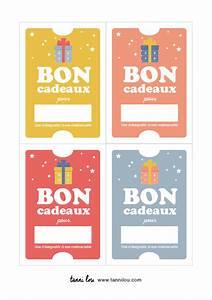 Idée Cadeau Calendrier De L Avent Adulte : free printable des bons cadeau pour offrir un cadeau ~ Melissatoandfro.com Idées de Décoration