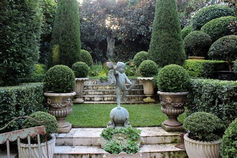 classic garden design garden ornamentation jane ellsworth interior designer