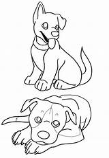 Coloring Pages Puppies Printable Sheets Pitbull Deviantart Library Bestcoloringpagesforkids Clipart Sketch sketch template
