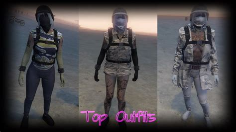 Top 16 Female Outfits |GTA 5 Online| 1.40 (RNG u0026 TRYHARD) ud83dudc95ud83cudf80 - YouTube