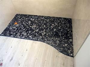 Bac A Douche Sur Mesure : receveur de douche extra plat sur mesure en granit ~ Dailycaller-alerts.com Idées de Décoration