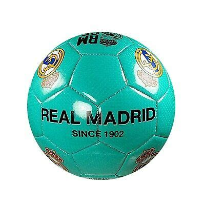 Real Madrid Soccer Ball (Size 5) Teal Color | eBay