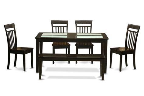 Rectangular Dining Room Set W/ 4 Chairs