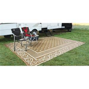 guide gear 9x12 reversible patio rv mat 499643 outdoor rugs mats can t park without my