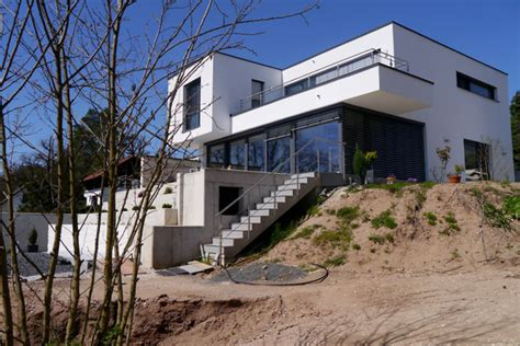 Architektenhäuser Am Hang by Haus Am Hang Krex Architekten