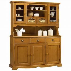 Buffet Vaisselier Pas Cher : buffet vaisselier pin miel 5 portes 5 tiroirs de style anglais beaux meubles pas chers ~ Melissatoandfro.com Idées de Décoration