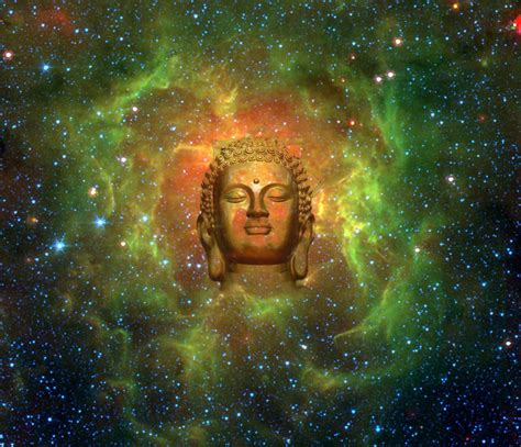 cosmic buddha canvas print canvas art  jody brusca