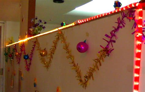 cubicle decoration themes in office for diwali diwali decorations ideas for office and home cathy