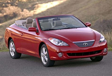 Toyota Solara Convertible For Sale by Toyota Won T Restart Production Of Camry Solara Convertible