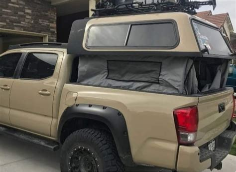 Toyota Tacoma Bed Cap by Toyota Tacoma Are Overland Series Truck Cap New