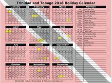 List Of Public Holidays In Trinidad And Tobago 2017