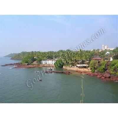 Dona Paula Beach in Goa India
