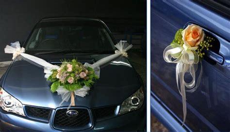 dekoracja samochodu welon  muszka