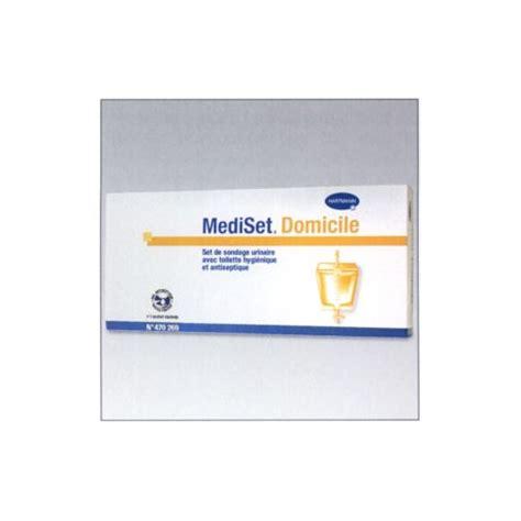 mediset set sondage urinaire avec poche recueil 2l l