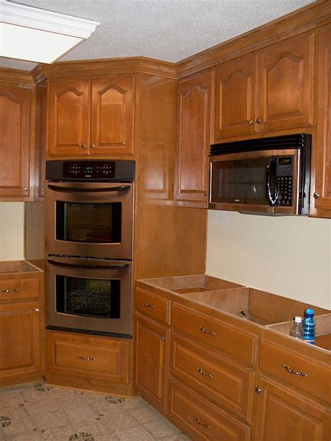 kitchen cabinet for wall oven corner oven leave microwave where it is put drop in