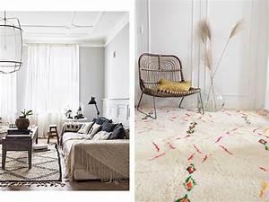 quel style de tapis choisir pour une deco boheme With tapis berbere avec choisir son canapé convertible