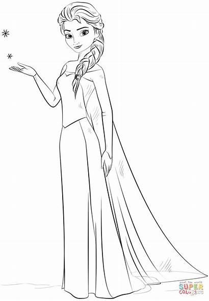 Elsa Colorir Pintar