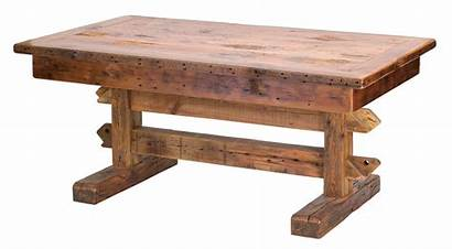 Table Wooden Wood Transparent Barn Dining Rustic