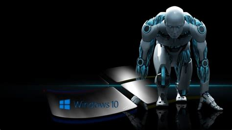 microsoft windows windows  androids robot wallpapers