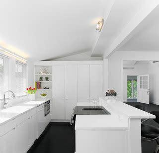 kitchen design architect white on white design 1089