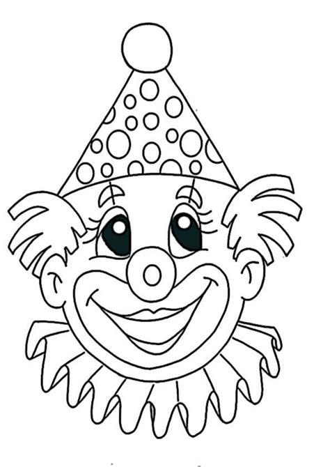 clown gesicht basteln ausmalbilder clown 2 vorlagen brandmalerei fasching basteln clown ausmalbilder fasching