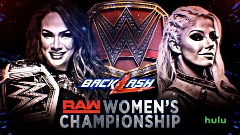 Maybe you would like to learn more about one of these? WWE Backlash Offical Match Cards - YouTube