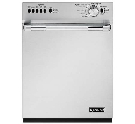 Jenn Air Pro Style Built In Dishwasher in Stainless Steel