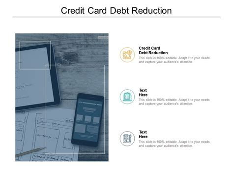 credit card debt reduction  powerpoint
