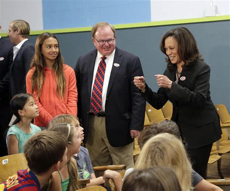 1 day ago · vice president kamala harris alarmingly urged parents to start buying christmas presents for their children now due to worldwide supply change disruptions and warned on climate change while. Senator Kamala Harris Children