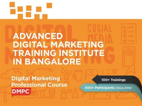 Digital Marketing Courses In Bangalore by Advanced Digital Marketing And Course