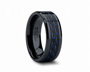 Wedding rings meaning of black band on hand mens diamond for Black wedding rings meaning