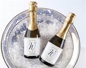 personalized mini wine bottle labels classic wedding With custom mini wine labels