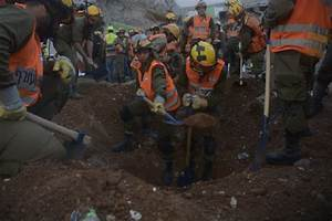 Israeli official: Chances of finding construction workers ...