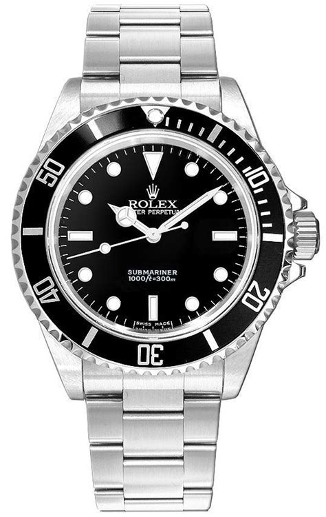 14060 Rolex Submariner Collection Black Dial Mens Watch