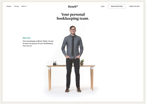 Bench Bookkeeping by Kyle Thacker Product Design