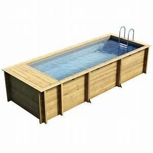 Piscine Sans Permis : piscine bois hors sol et enterrable achat vente chez irrijardin ~ Melissatoandfro.com Idées de Décoration